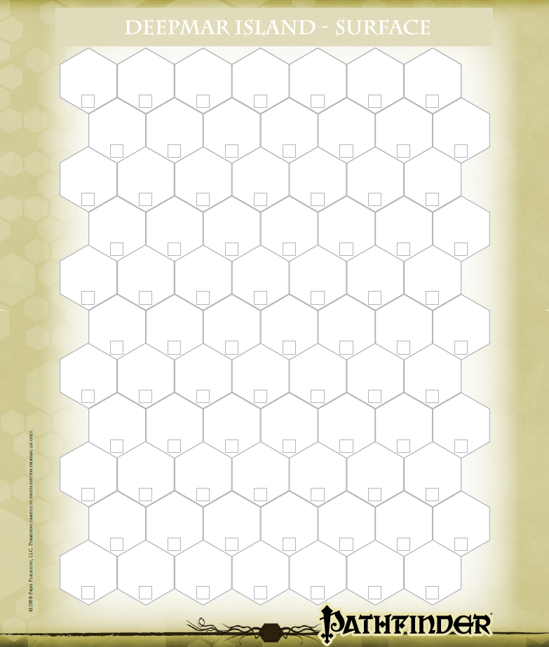 Hex Map Blank
